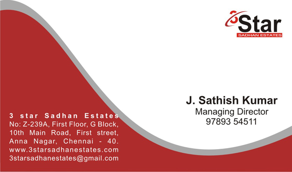 Business Card Designer Visiting Card Design In Chennai India
