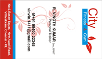 chennai business card design company